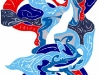 blue twist